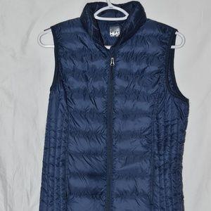32 Degree Heat navy puffer vest